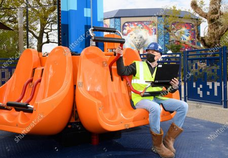 LEGOLAND Windsor Resort reveals first look at the landscape, attractions, experiences, and LEGO models in its new land LEGO® MYTHICA: World of MYTHICAL Creatures, opening on May 29th.Matt Phillips carries out final tests ahead of the opening