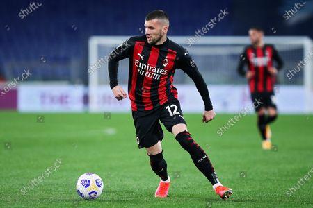 Ante Rebic (Milan) during the match