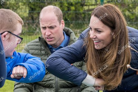 Editorial image of Prince William and Catherine Duchess of Cambridge visit to the Cheesy Waffles Project, Durham, UK - 27 Apr 2021