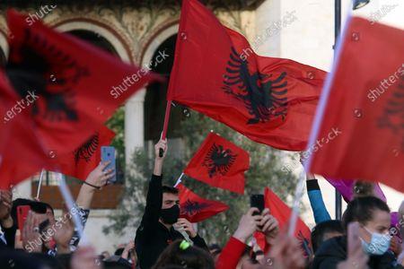 Editorial picture of Election, Tirana, Albania - 27 Apr 2021