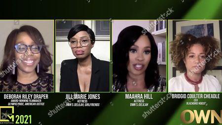 Stock Image of Deborah Riley, Jill Marie Jones, Maahra Hill and Bridgid Coulter Cheadle