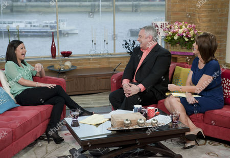 Hayley Tamaddon with Eamonn Holmes and Ruth Langsford.