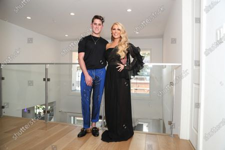 Jonathan Marc Stein and Gretchen Rossi attend the Jonathan Marc Stein virtual show