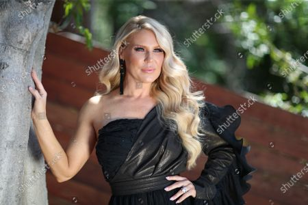 Stock Image of Gretchen Rossi attends the Jonathan Marc Stein virtual show