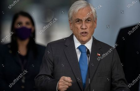 Editorial image of Politics, Santiago, Chile - 27 Apr 2021