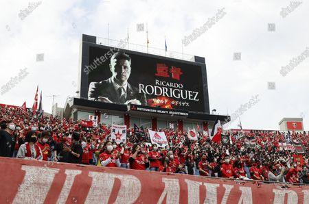 Ricardo Rodriguez, Urawa Red Diamonds Fans (Reds) - Football / Soccer : 2021 J1 League match between Urawa Red Diamonds 3-2 Oita Trinita at Saitama Stadium 2002, Saitama, Japan.