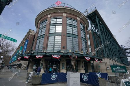 Editorial picture of Giants Mariners Baseball, Seattle, United States - 01 Apr 2021
