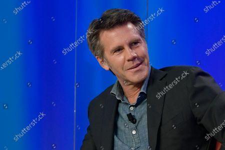 Emanuele Filiberto di Savoia seen during the broadcast Maurizio Costanzo Show last episode 2021.