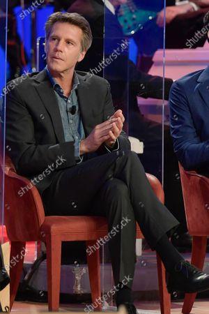 Editorial image of Maurizio Costanzo Show last episode in Rome, Italy -27 Apr 2021