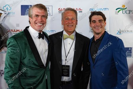 Steven Scott Stewart, a guest and RJ Mitte