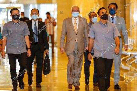Editorial image of Malaysia's former prime minister Najib Razak starts appeal against 1MDB-linked conviction, Putrajaya - 28 Apr 2021