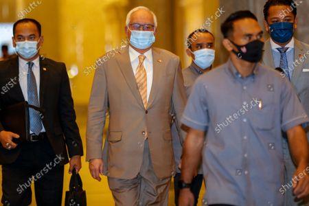 Editorial photo of Malaysia's former prime minister Najib Razak starts appeal against 1MDB-linked conviction, Putrajaya - 28 Apr 2021