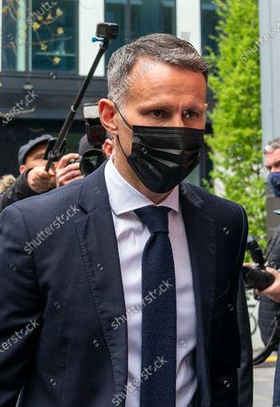 Ryan Giggs arriving