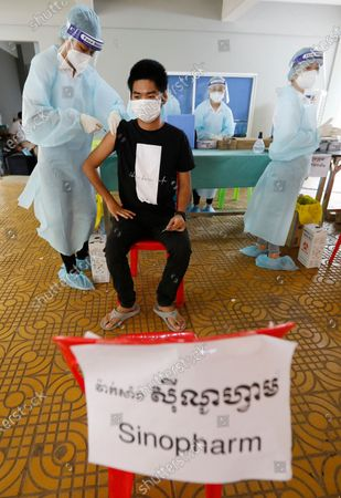 Editorial image of Ongoing lockdown in Phnom Penh due to COVID-19 outbreak, Cambodia - 28 Apr 2021