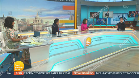 Editorial picture of 'Good Morning Britain' TV Show, London, UK - 28 Apr 2021