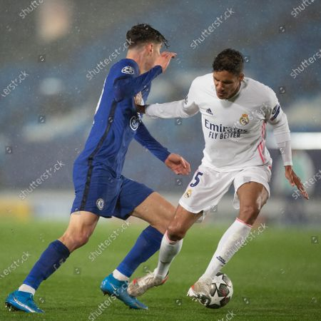 Editorial picture of Spain Madrid Football Uefa Champions League Real Madrid vs Chelsea - 27 Apr 2021