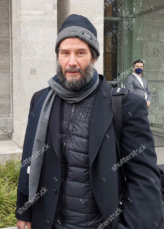 Editorial picture of Keanu Reeves out and about, Berlin, Germany - Apr 2021