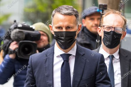 Editorial photo of Ryan Giggs court assault, Manchester, Greater Manchester, UK - 28 Apr 2021