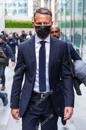 Editorial image of Ryan Giggs court assault, Manchester, Greater Manchester, UK - 28 Apr 2021
