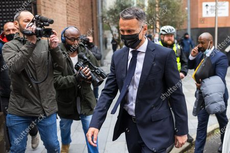 Editorial picture of Ryan Giggs court assault, Manchester, Greater Manchester, UK - 28 Apr 2021