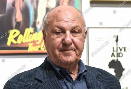 Editorial photo of Harvey Goldsmith at Bonhams, London, UK - 28 Apr 2021