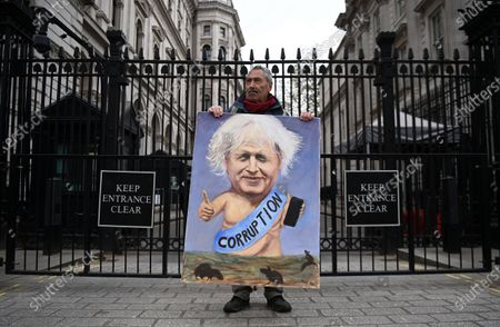 Editorial image of Prime Minister Boris Johnson under pressure following sleaze allegations, London, United Kingdom - 28 Apr 2021