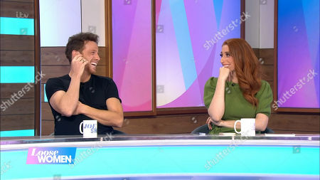 Stock Picture of Joe Swash and Stacey Solomon