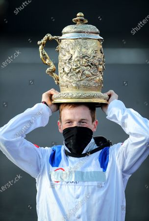 Editorial image of Punchestown Racing Festival, Punchestown Racecourse, Co. Kildare - 28 Apr 2021