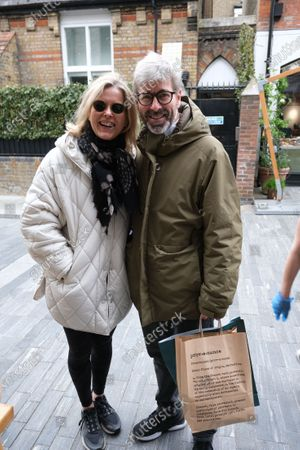 Lady Helen Taylor and her husband Tim shopping on her birthday