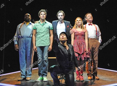 Editorial photo of 'The Fantasticks' musical at the Duchess Theatre, London, Britain - 27 May 2010