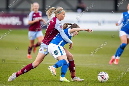 Editorial picture of Birmingham City Women v Aston Villa Ladies, FA Women's Super League - 28 Apr 2021