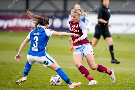 Editorial photo of Birmingham City Women v Aston Villa Ladies, FA Women's Super League - 28 Apr 2021