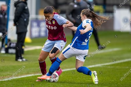 Editorial image of Birmingham City Women v Aston Villa Ladies, FA Women's Super League - 28 Apr 2021