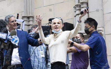 Editorial photo of Federal Authorities Raid Giuliani Apartment in New York, USA - 28 Apr 2021