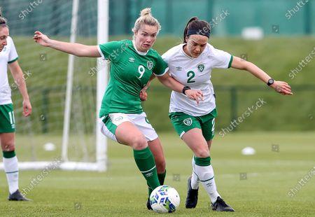 Saoirse Noonan and Ciara Grant
