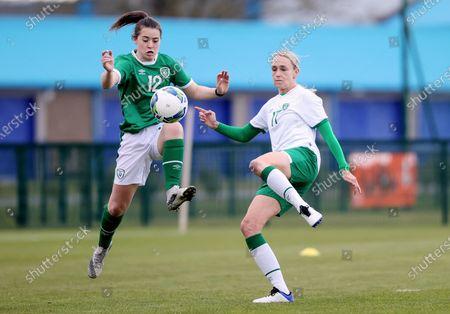 Editorial image of Republic of Ireland WNT Squad Training, FAI National Training Centre, Dublin - 28 Apr 2021