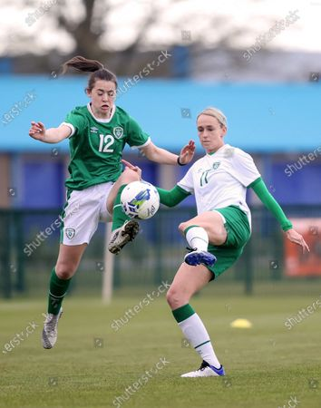 Stock Image of Emily Whelan and Stephanie Roche