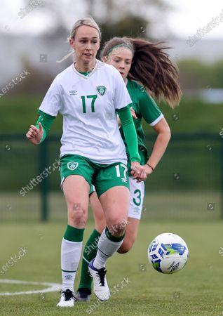 Editorial photo of Republic of Ireland WNT Squad Training, FAI National Training Centre, Dublin - 28 Apr 2021