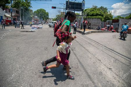 Editorial image of Haitians protest against the Constitution promoted by the Government of Moise, Port Au Prince, Haiti - 28 Apr 2021
