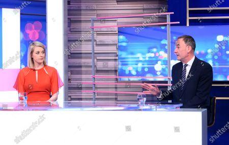 Editorial photo of 'Peston' TV show, Series 7, Episode 15, London, UK - 28 Apr 2021