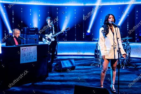 Editorial image of 'The Jonathan Ross Show' TV show, Series 17, Episode 4, London, UK - 01 May 2021
