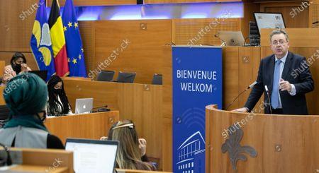 Editorial picture of Brussels Region Assises Against Racism, Brussels, Belgium - 29 Apr 2021