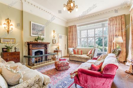 Editorial picture of Georgian manor where writer Evelyn Waugh lived is on the market for £5.5m, Somerset, UK - 29 Apr 2021