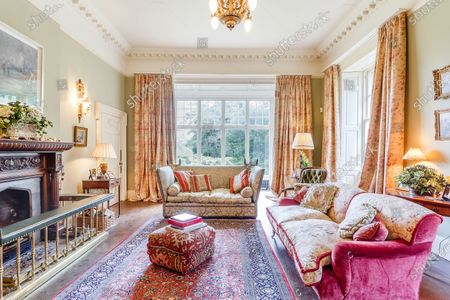 Editorial photo of Georgian manor where writer Evelyn Waugh lived is on the market for £5.5m, Somerset, UK - 29 Apr 2021