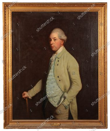 A portrait of William Craven, 6th Baron Craven, by Thomas Beach sold for £9,100  The contents of a millionaire financier's stately home have sold for over £750,000.  Dewlish House in Dorset, one of the most beautiful stately homes in Britain, sold recently for only the second time in its 300-year history and its treasures have gone under the hammer.  The top selling lot was a spectacular Queen Anne gilt mirror similar to one in the V&A Museum which sold for £65,000 including fees.  A George II giltwood console table, designed in the manner of William Kent, also went for double its estimate at £40,000 hammer, £52,000 including fees.  A pair of George III Serpentine chest of drawers sold for £39,000 and a rare oak bed dating from the reign of King Henry VIII sold for £26,000.