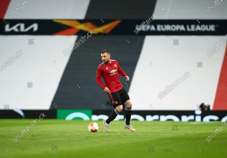 Editorial image of Manchester United v Roma, UEFA Europa League, Semi Final, First Leg, Football, Old Trafford, Manchester, UK - 29 Apr 2021