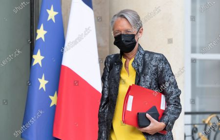 French Labor Minister Elisabeth Borne.