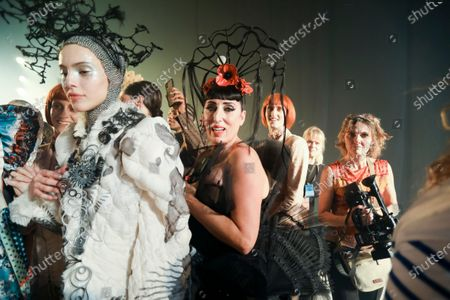 Rossy De Palma at the Jean Paul Gaultier Fashion show in Paris, Spring Summer 2020, Couture Fashion Week