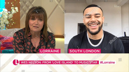 Editorial picture of 'Lorraine' TV Show, London, UK - 29 Apr 2021