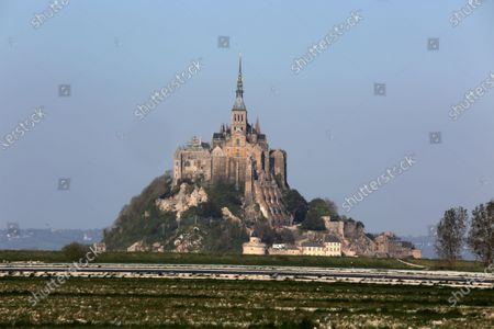 Mont Saint Michel on the World Heritage List of UNESCO and the Way of St. James de-Compostelle's architecture and bay make it a major tourist site in France.A statue of Saint Michel is located at the top of the abbey church.